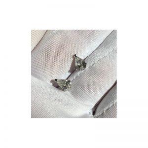 Náušnice s diamantmi PEAR