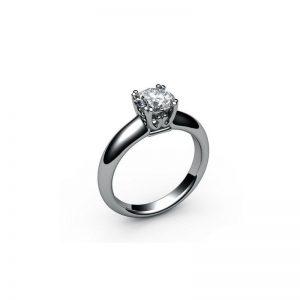 Zásnubný prsteň s diamantom 1.00 ct